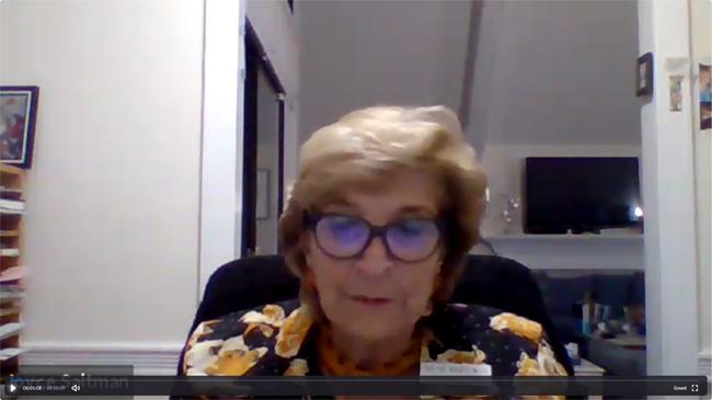 Joyce Saltman Recording