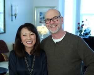 Emily Liu and Jim Griffeth